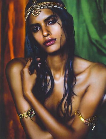 Индийская актриса дипамита